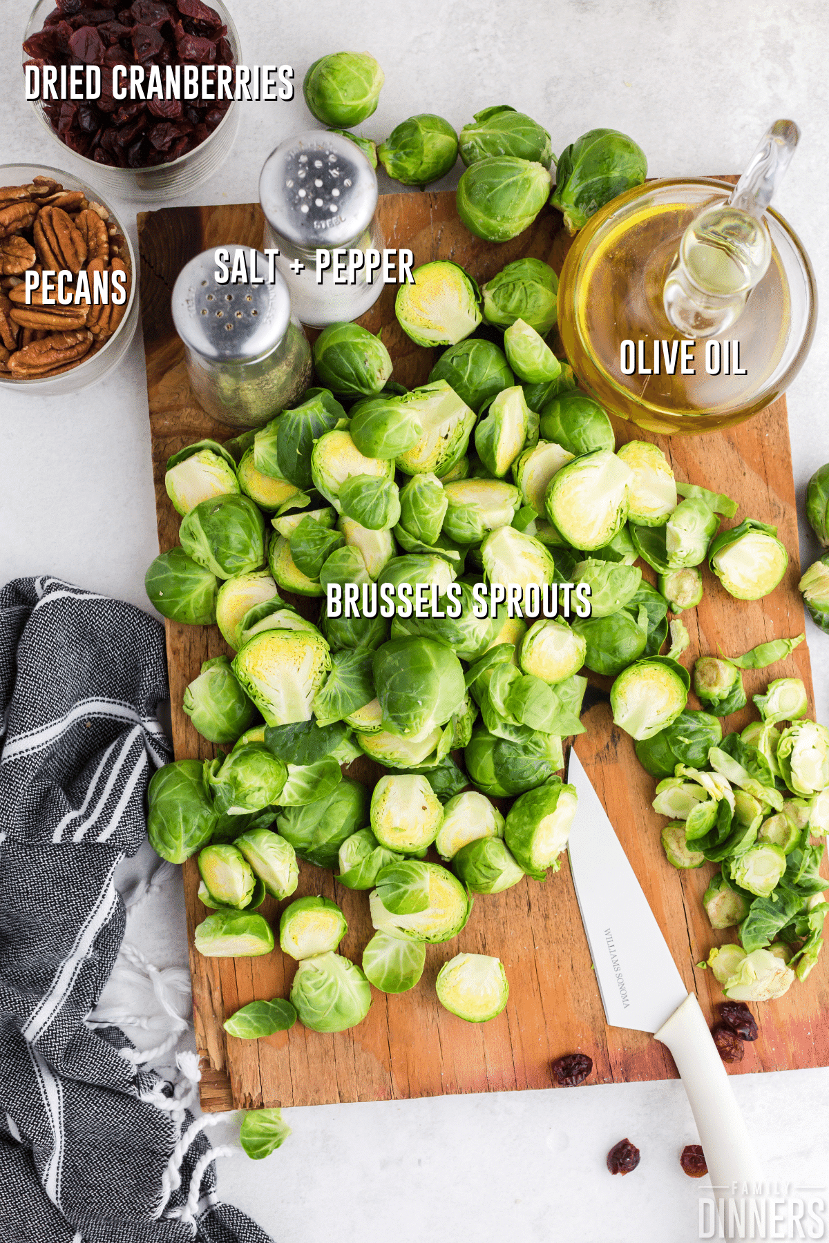 brussels sprouts ingredients
