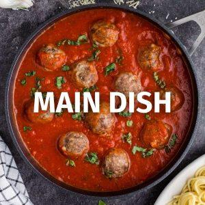 main dish recipe category image